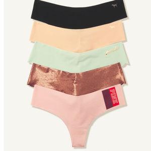PINK Victoria's Secret No Show Thong Bundle